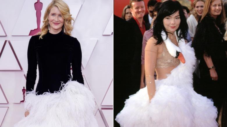Laura Dern Bjork Oscars røde løperen
