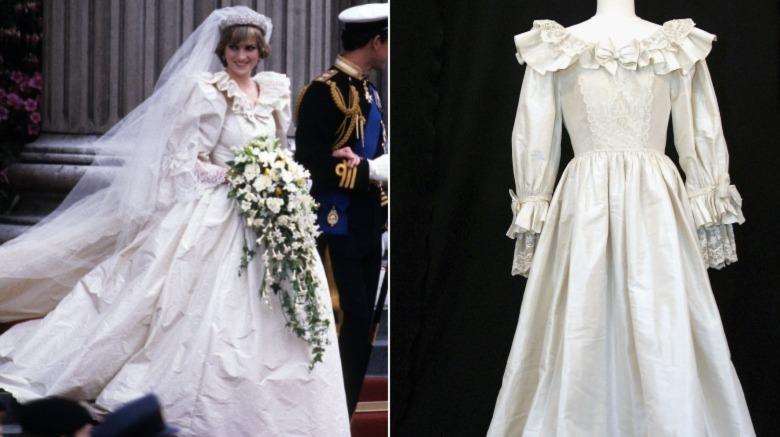 Prinsesse Diana bryllupsdagskjole