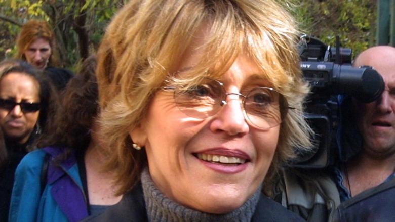 Jane Fonda smiler