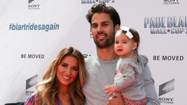 Jessie James Decker, Eric Decker og deres datter Vivianne