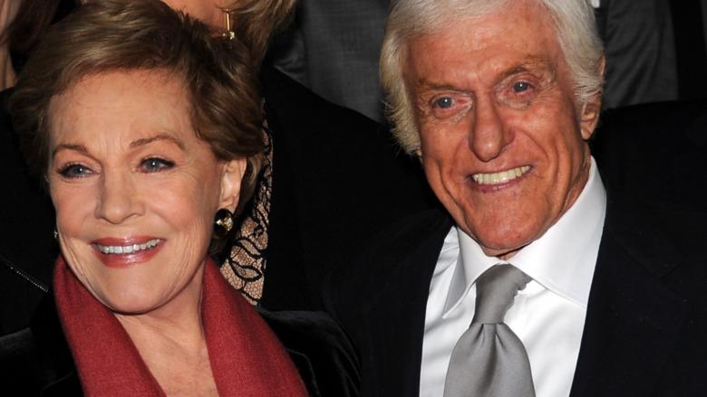 Dick Van Dyke Julie Andrews smiler