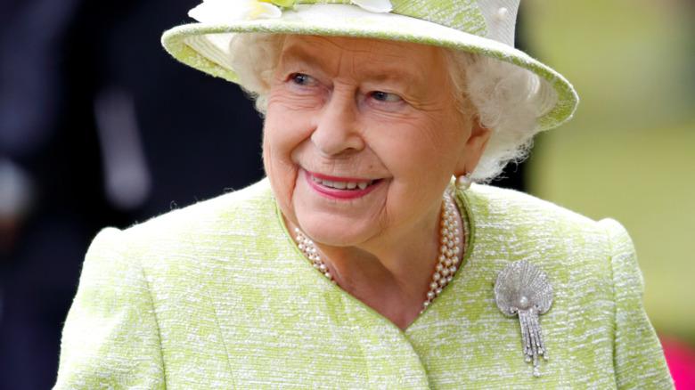Dronning Elizabeth på Royal Ascot i juni 2019