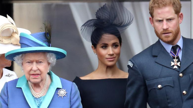 Dronning Elizabeth Meghan Markle og prins Harry offisielle plikter