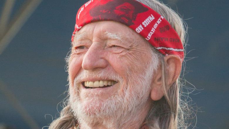 Willie Nelson opptrer på LOCKN 'Festival