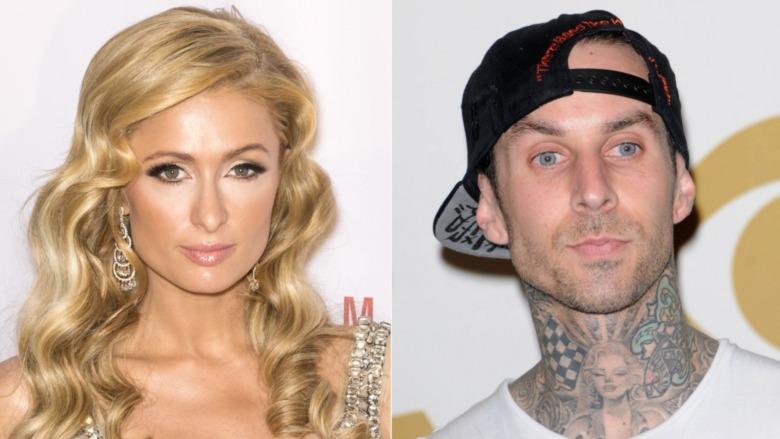 Paris Hilton og Travis Barker