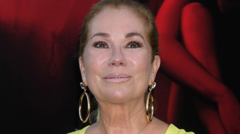 Kathie Lee Gifford wince