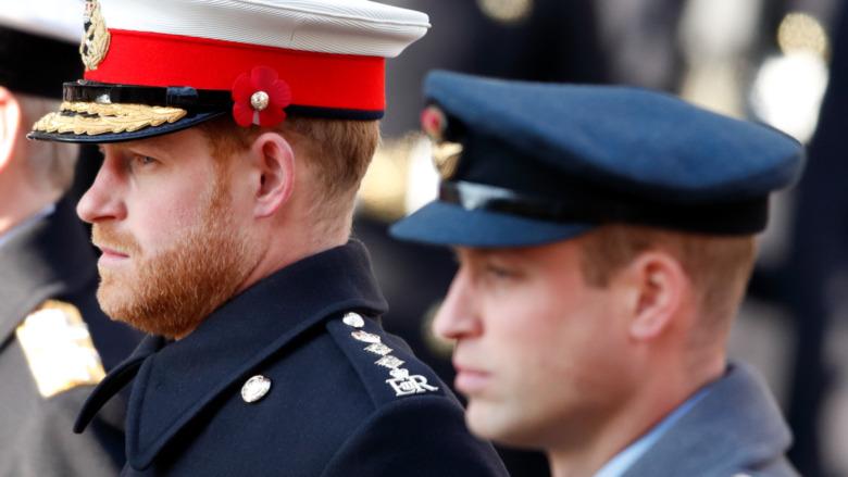 prins william på philip begravelse