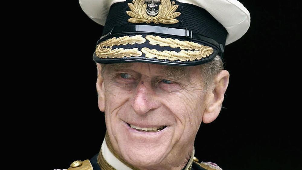 Prins Philip Royal Navy-uniform