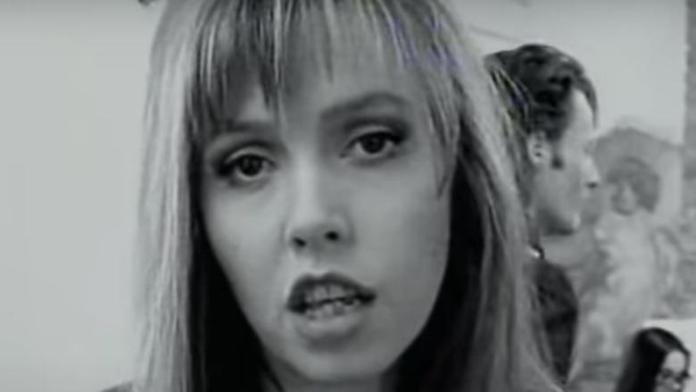 Anita Lane i en musikkvideo