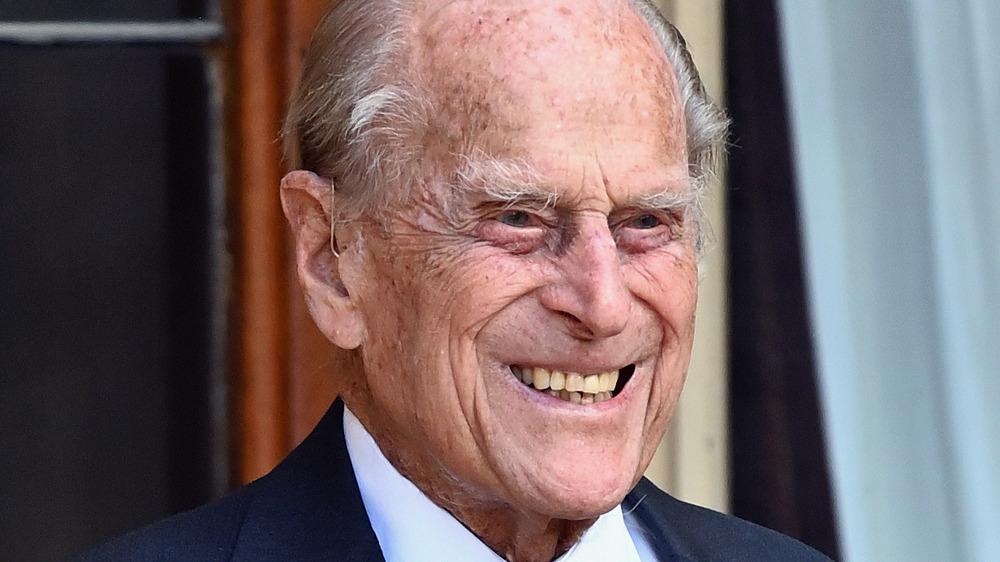 Prins Philip smiler