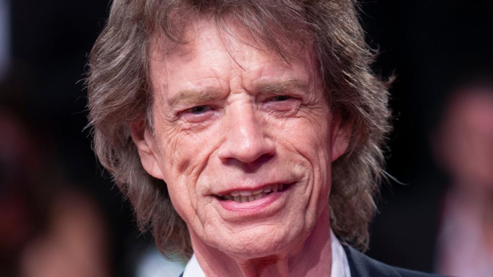 Mick Jagger på den røde løperen