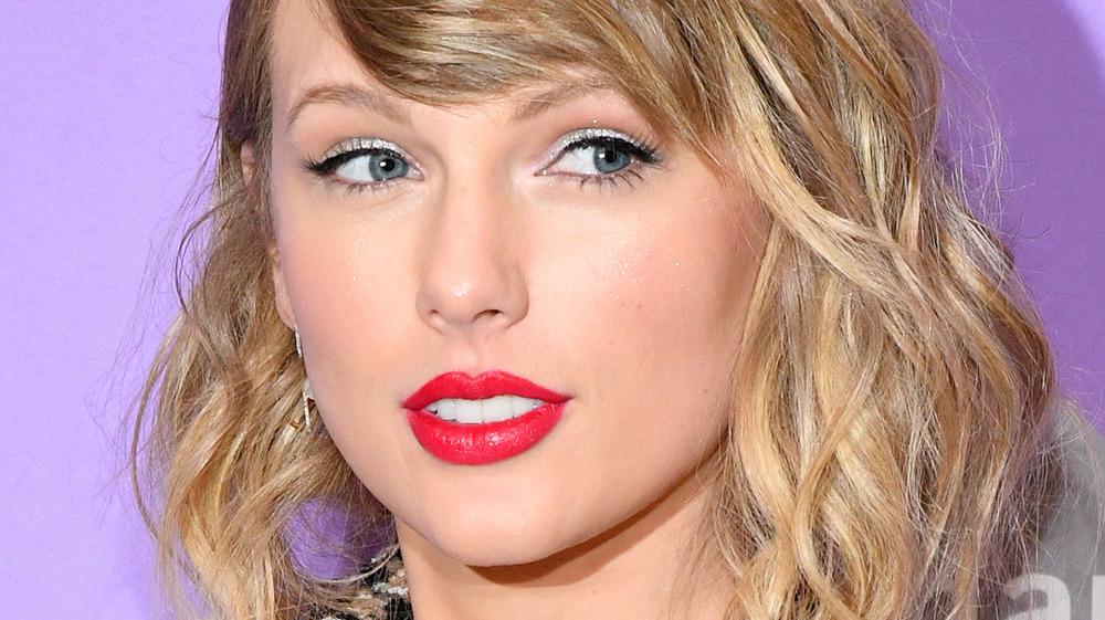 Taylor Swift på den røde løperen