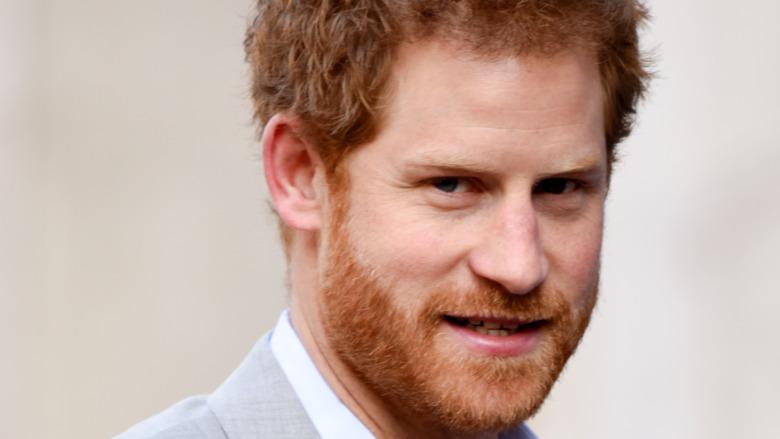Prins Harry gliser