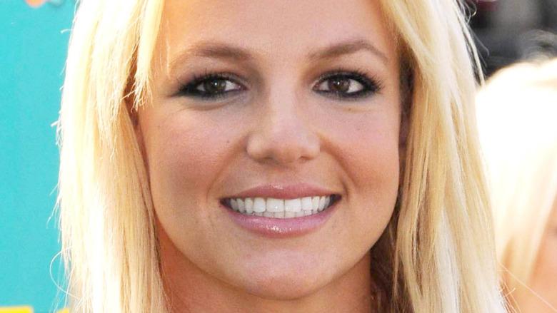 Britney Spears hvite tenner