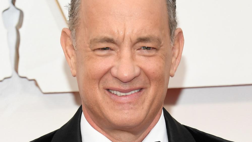 Tom Hanks smiler