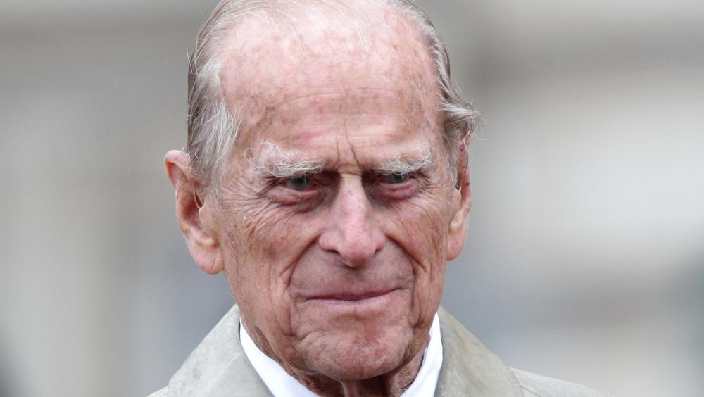 Prins Philip paraderer Buckingham Palace