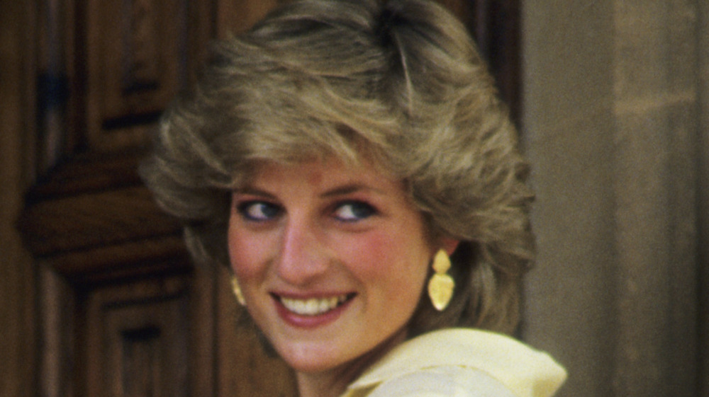 Prinsesse Diana på Mallorca, Spania i 1987