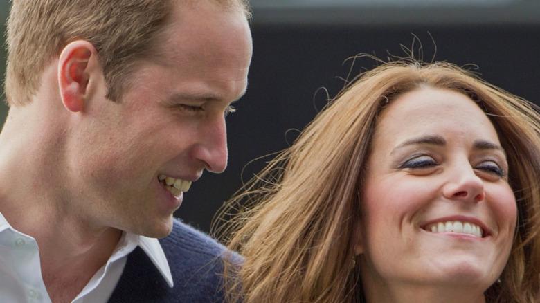 Prins William og Kate Middleton deltar på Rippa Rugby