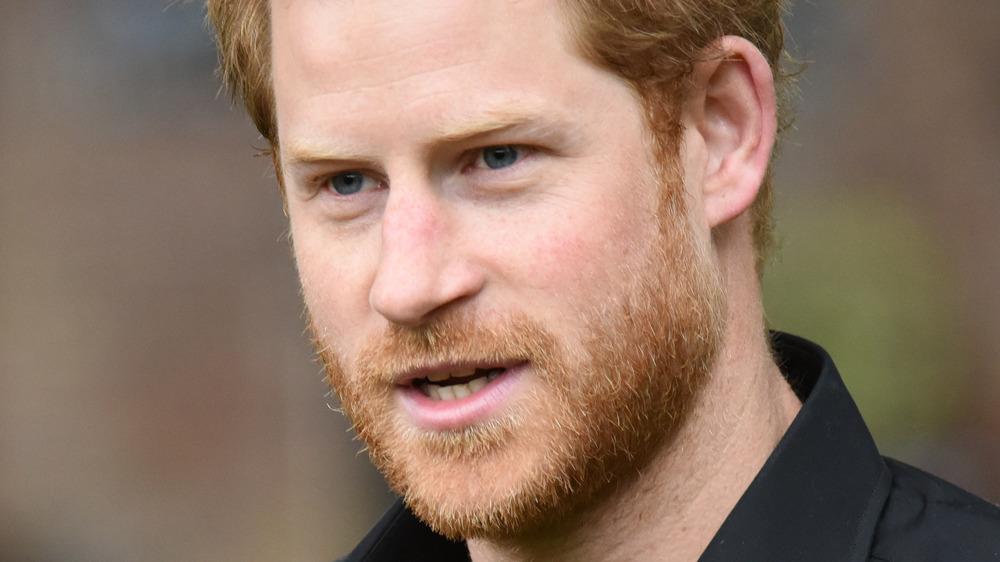 Prins Harry skur