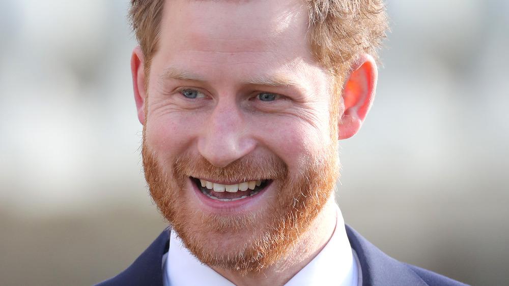 Prins Harry ler