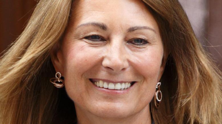 Carole Middleton smiler