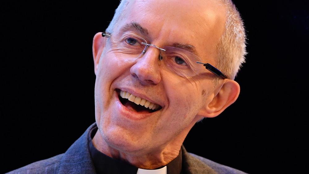 Erkebiskop av Canterbury Justin Welby smilende