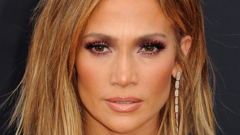 Jennifer Lopez på en rød løper