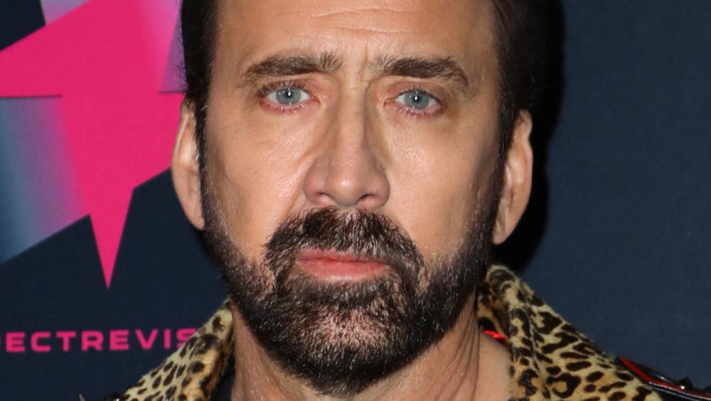 Nicolas Cage på et arrangement