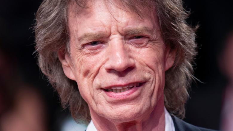Mick Jagger smiler