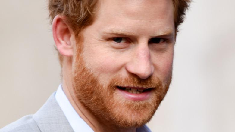 Prins Harry lurvet hår