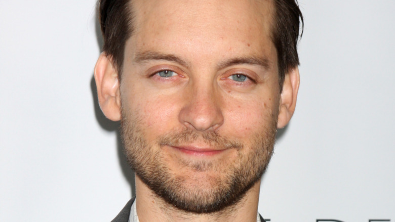 Tobey Maguire smiler