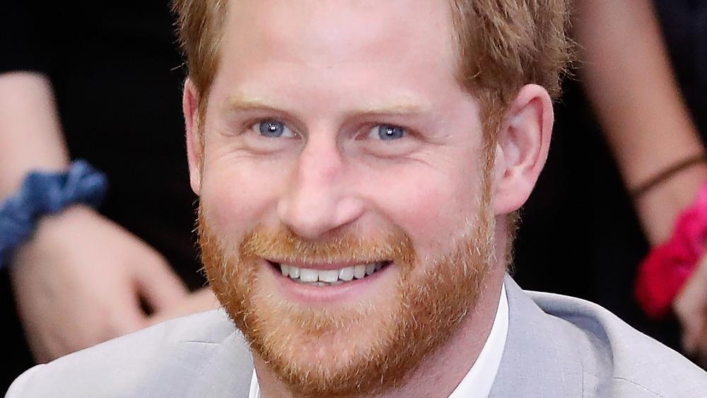 Prins Harry blå øyne