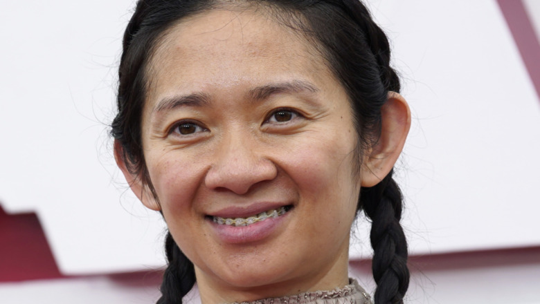 Chloe Zhao smiler