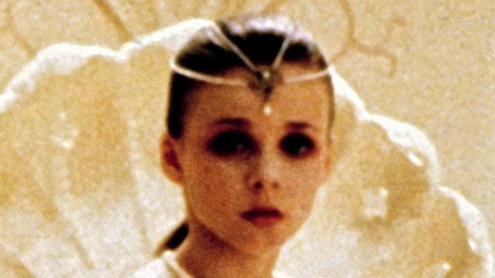 Tami Stronach som barnslig keiserinne i The NeverEnding Story