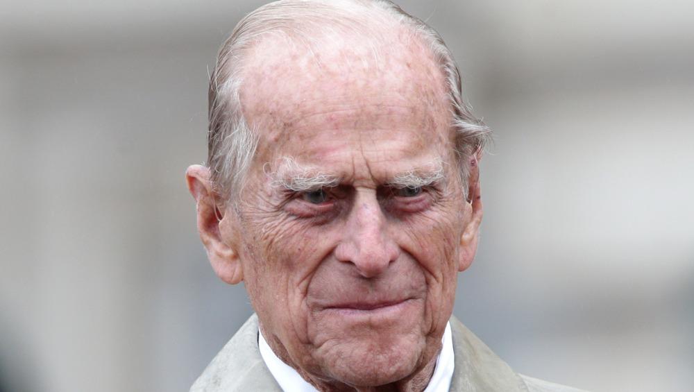 Prins Philip stiller ut