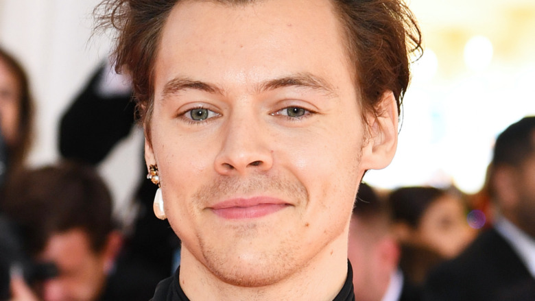 Harry Styles smiler