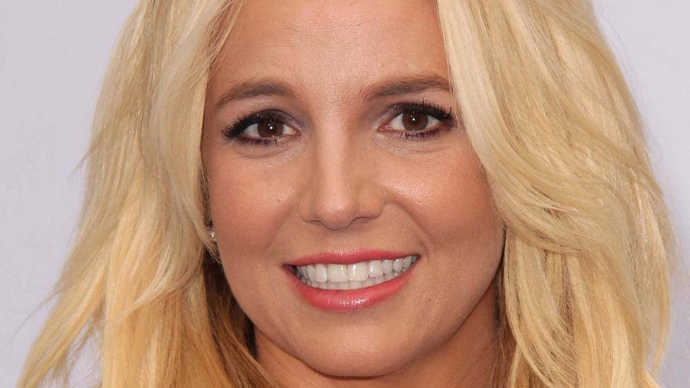 Britney Spears blondt hår