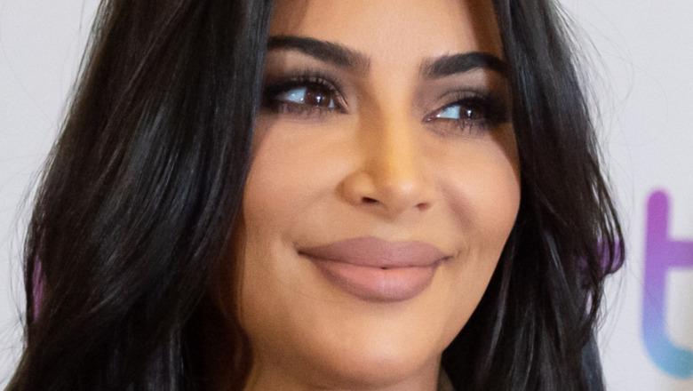 Kim Kardashian smiler