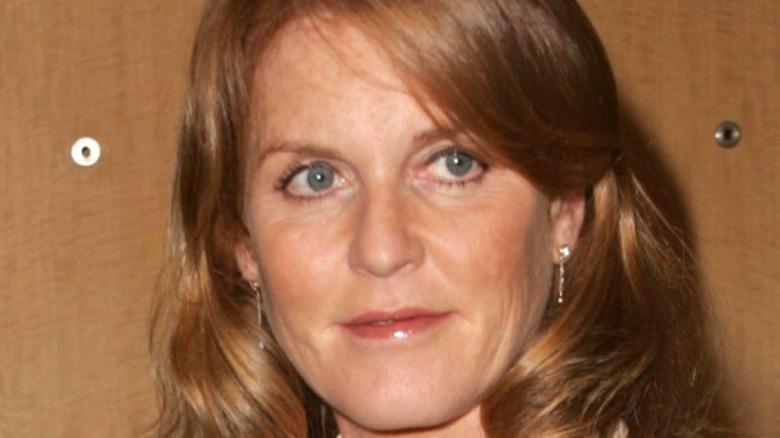 Sarah Ferguson på en K&G Creations smykkelansering i 2006