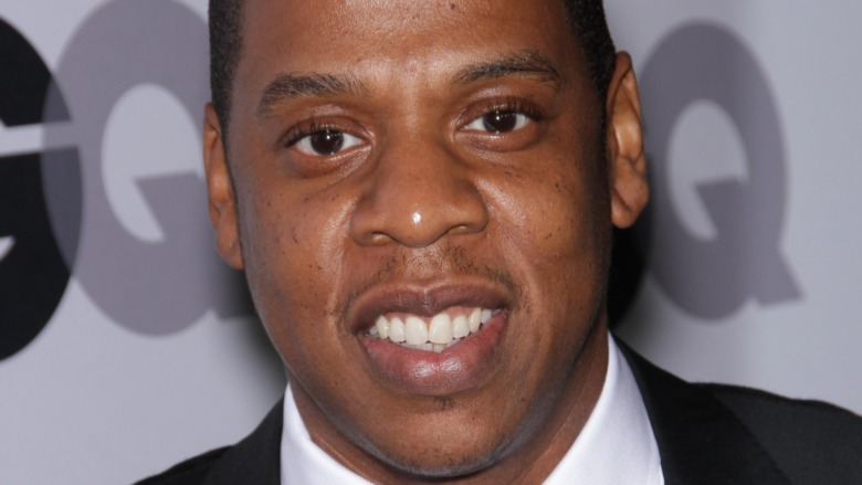Jay Z smiler 2011