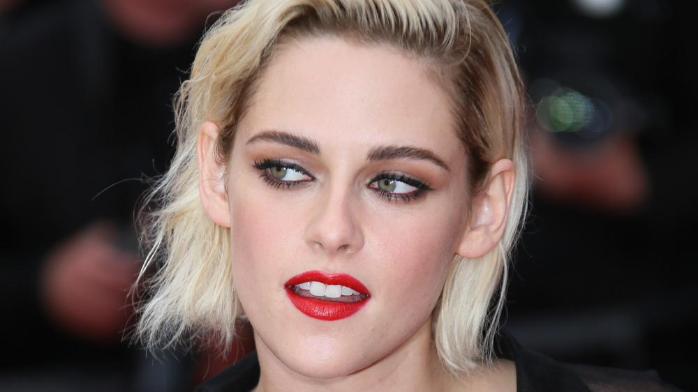 Kristen Stewart rød leppestift