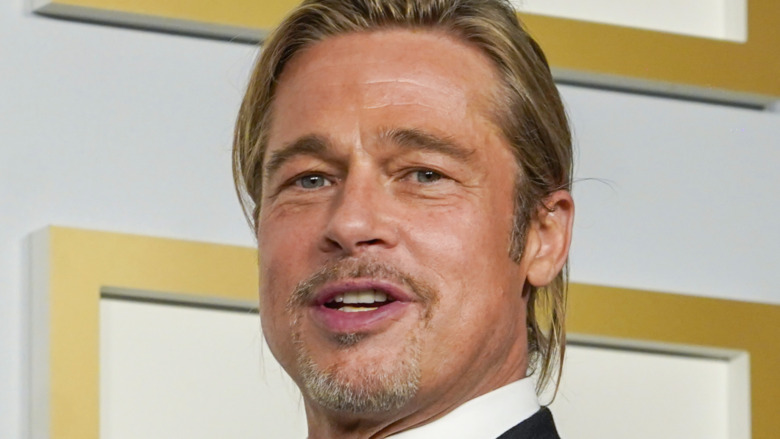 Brad Pitt på Oscar-utdelingen 2021