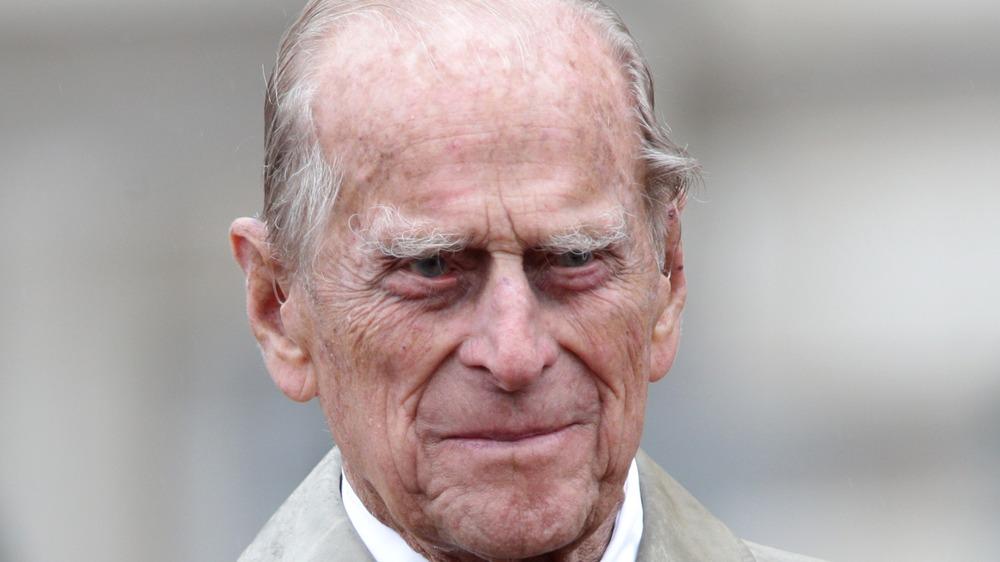 Prins Philip gir et lite glis da han var på et offentlig arrangement
