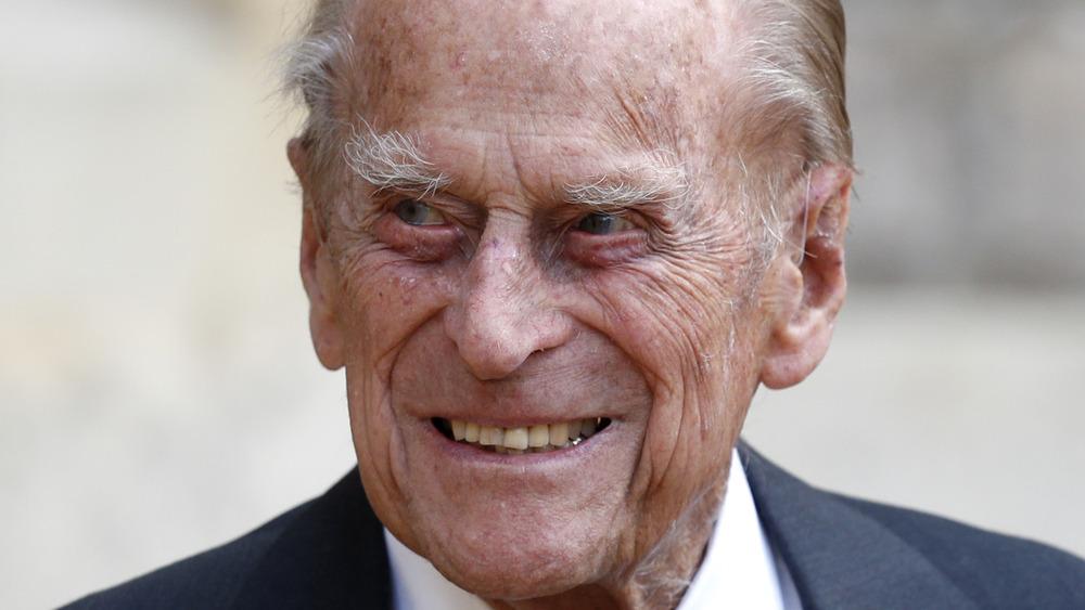 Prins Philip, smilende