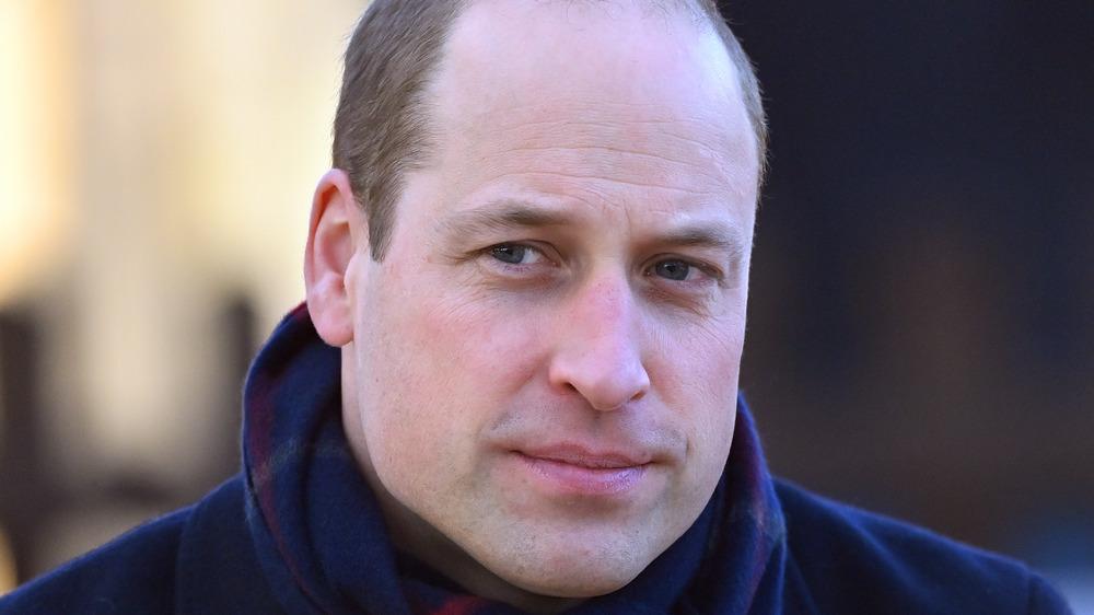 Prins William poserer