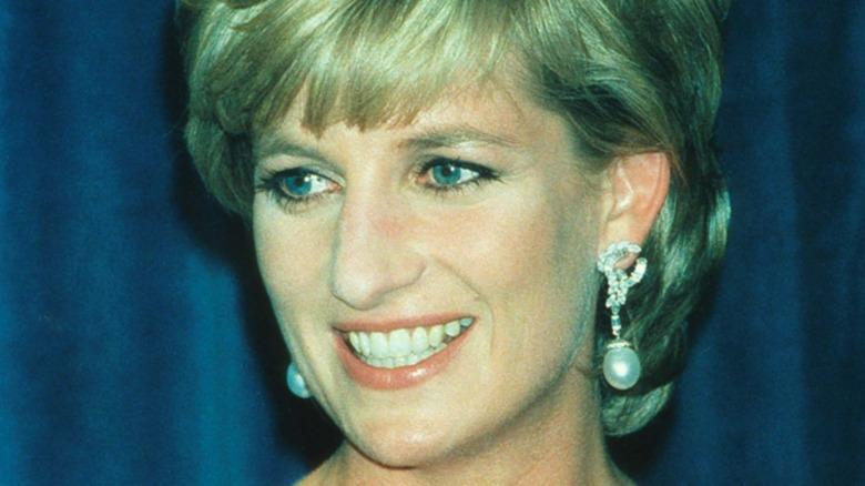 Prinsesse Diana på et arrangement