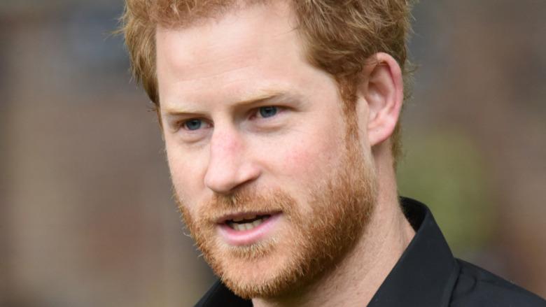 Prins Harry på et arrangement