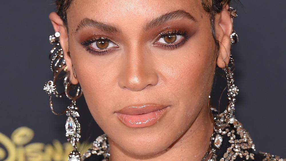 Beyonce på den røde løperen
