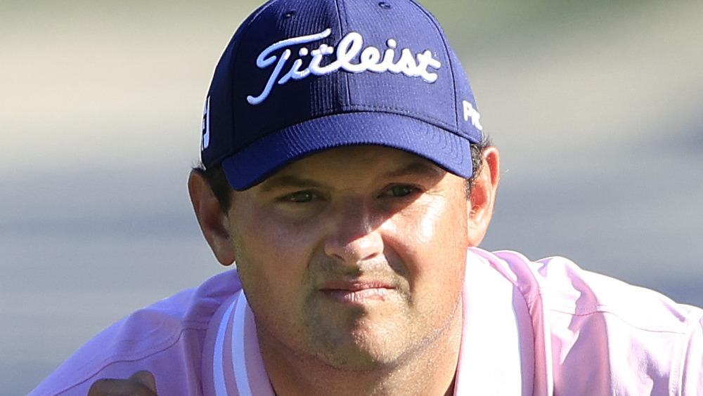 Patrick Reed huk på golfbanen