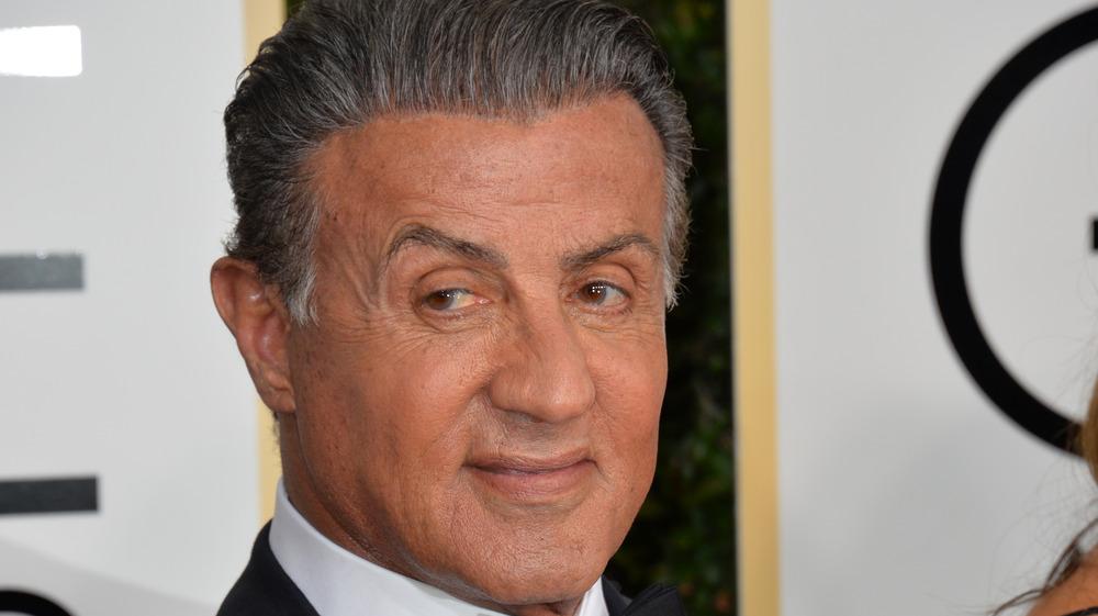Sylvester Stallone deltar på Golden Globes